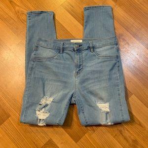 Women's PacSun High Rise Straight Leg Jeans. Sz 30